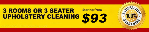 Carpet Cleaning 3 Rooms Promo Deal